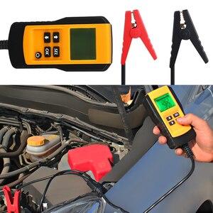 Image 5 - Тестер аккумулятора для автомобиля, цифровой диагностический прибор для проверки нагрузки аккумуляторов, 12 В, CCA