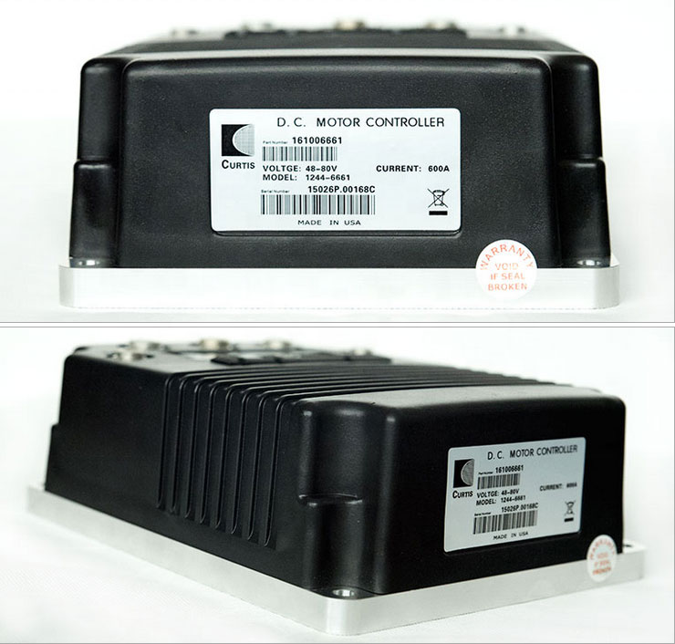 Curtis 600A Controller DC Speed Controller 1244-6661