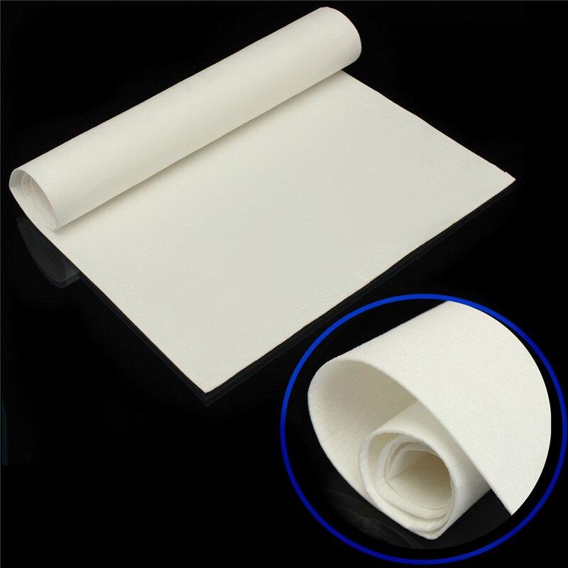 """Hoja de manta de papel aislante de fibra cerámica de 12 """"x 24"""" para estufas/insertos de madera"""