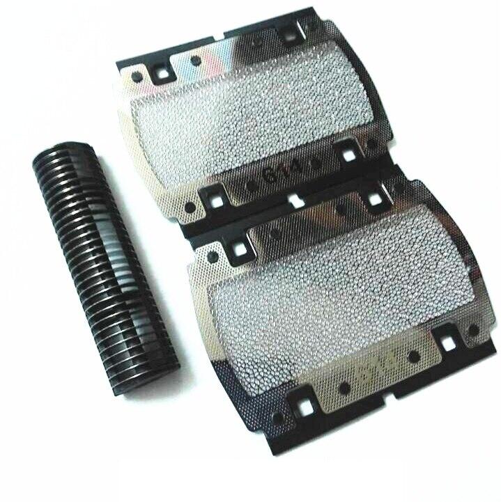 Высокое качество 614 фольга + резак для BRAUN PocketGo 614 350 355 370 375 5614 5615 p10 бритва замена лезвия сетка
