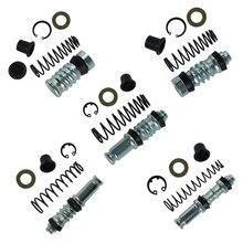Kit de réparation de Piston de moto   Pompe de frein à embrayage de moto 14mm 12.7mm 11mm Piston de Piston, kit de réparation de motos et Scooter