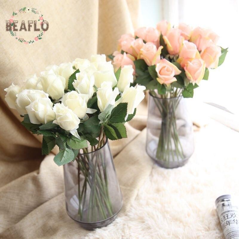 1PC Beautiful Silk Flower Artificial Rose Fake Flower Wedding Home Decoration
