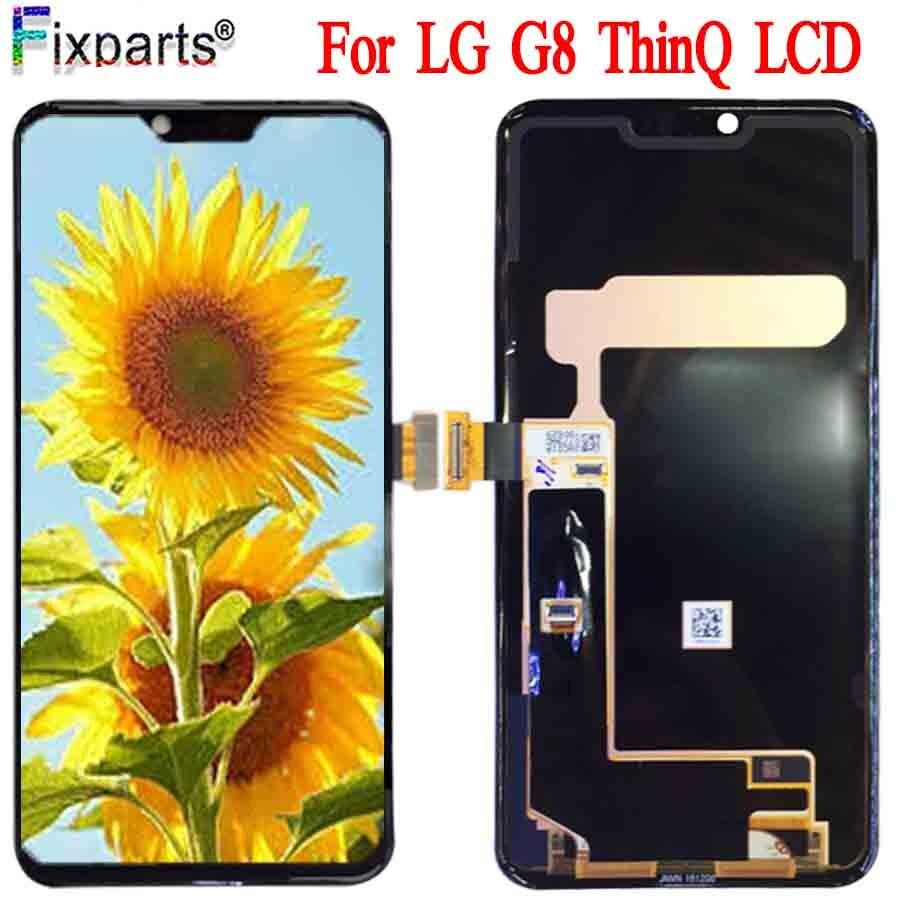 Para LG G8 ThinQ pantalla LCD LMG820QM7 LM-G820UMB LMG820UM0 MONTAJE DE digitalizador con pantalla táctil G8 LCD LMG820UM1 LMG820UM2 LM-G820N