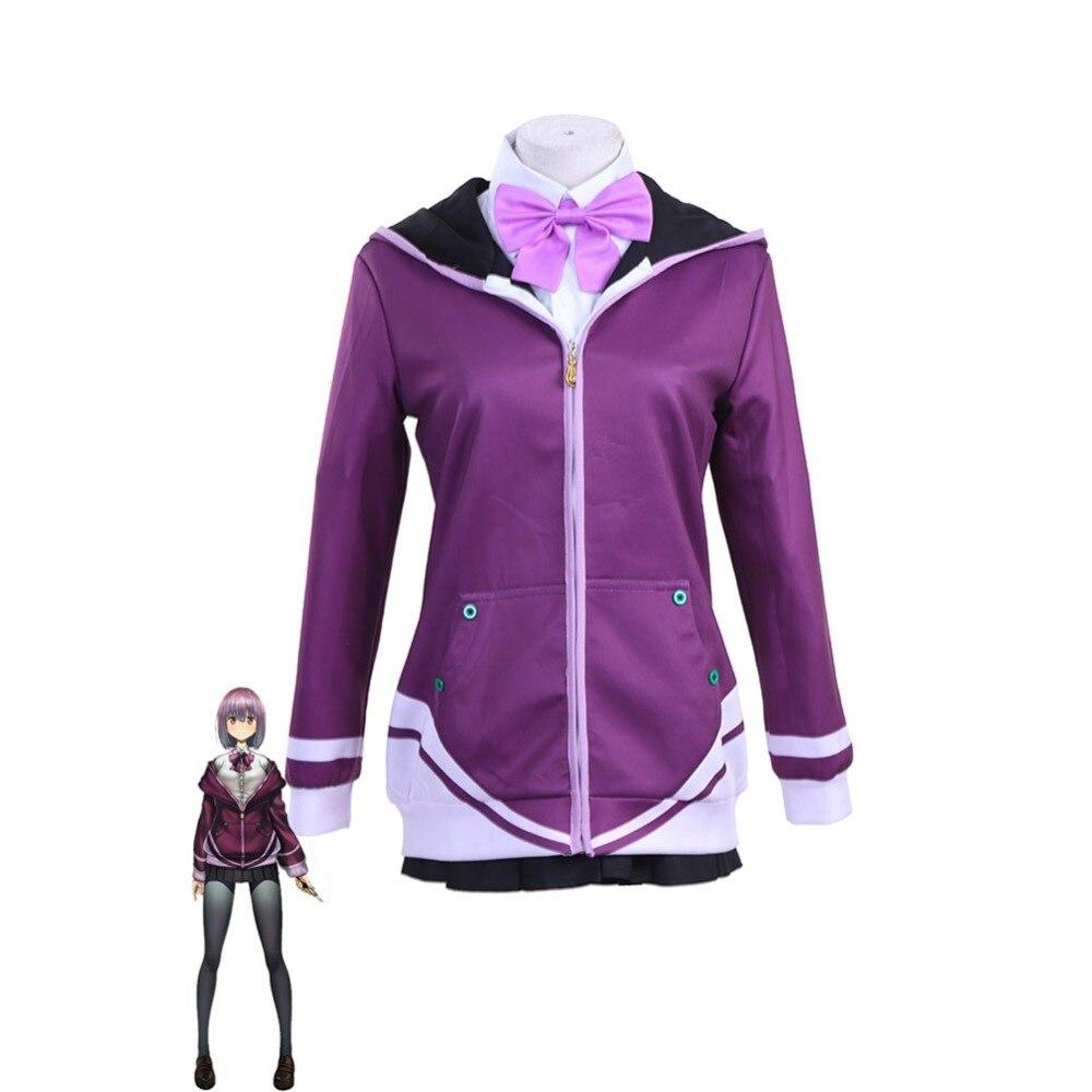 Envío Gratis SSSS. GRIDMAN Shinjo Akane Cosplay disfraz Shinjo Akane escuela uniforme camisas faldas Anime Cosplay disfraces