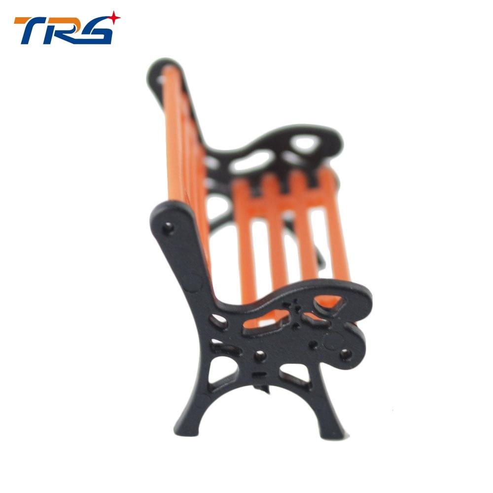 Model Railway Layout 175 Garden bench model Chair G N HO Scale NEW
