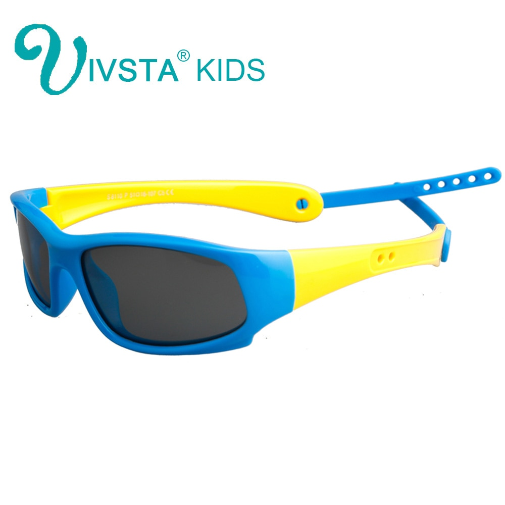 IVSTA 8110 niños gafas de sol niñas retenedor Correa titular niños gafas de sol niños polarizadas lentes UV400 TR90 marco FLexible
