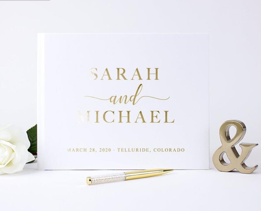 Libro de Visitas de boda personalizado alternativo, diarios de boda personalizados alternativos, libro de visitas de recuerdo de photobooth instantáneo