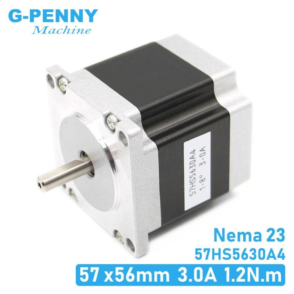 Cnc motor deslizante 57x56 nema 23 motor deslizante 3a 1.26n. m 180oz-in para cnc gravura máquina de trituração impressora 3d