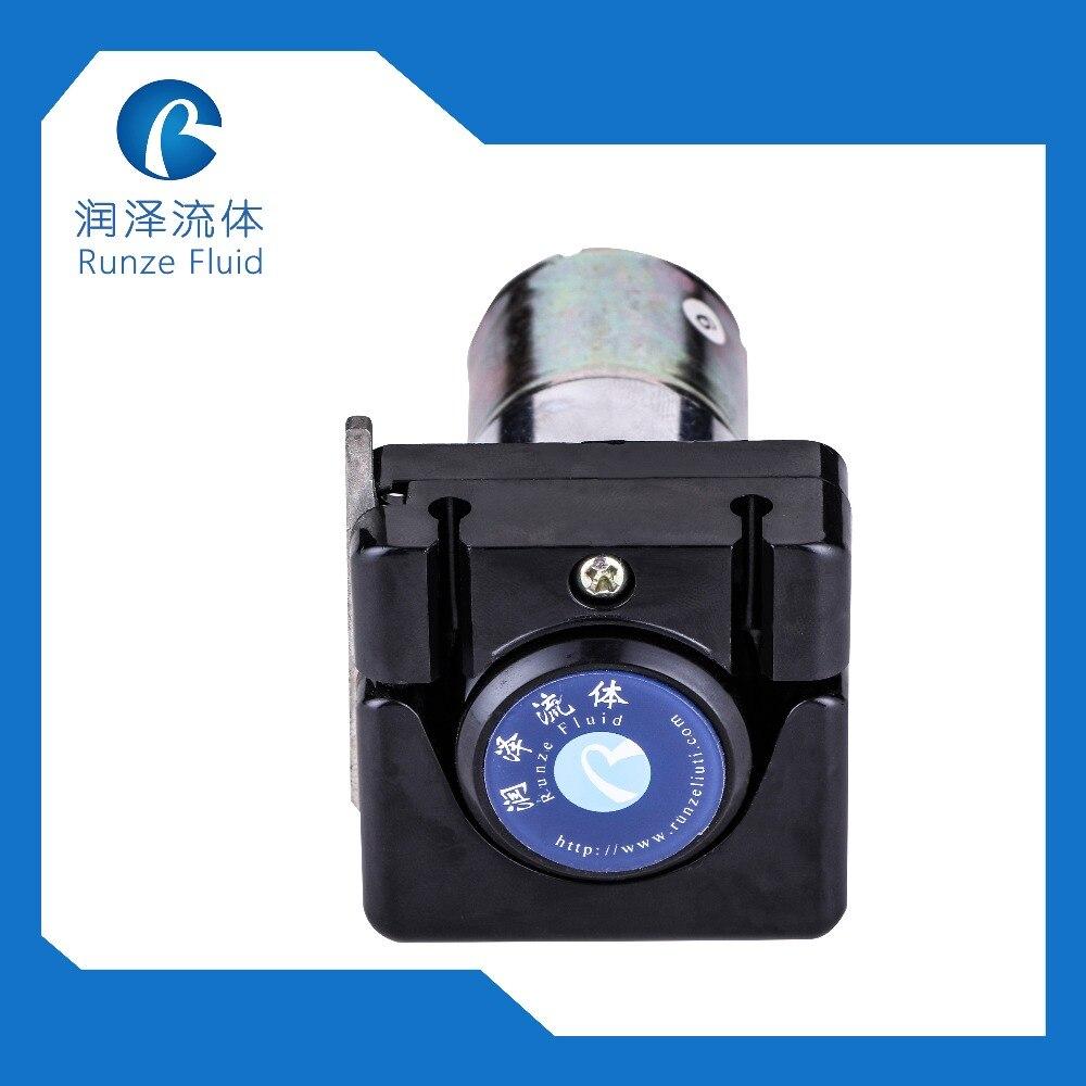 RUNZE Easy Loading Dosing Peristaltic Pump 12V/24V DC Motor 4 Rollers 140ml/min