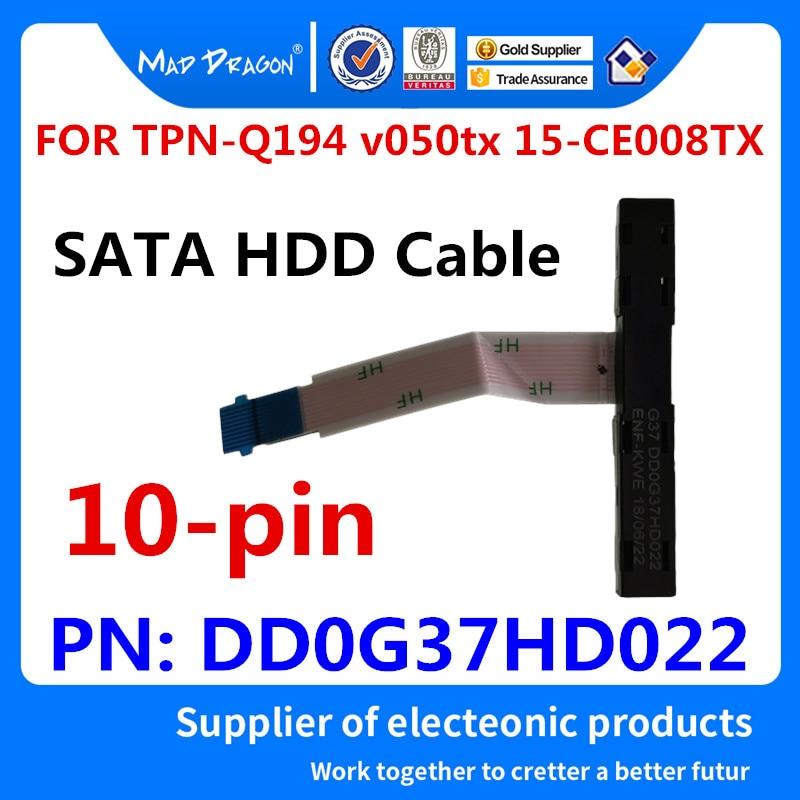 Nuevo SATA SSD HDD cable para disco duro conector para HP 15-CE TPN-Q194 v050tx 15-CE008TX 17t-w200 17-AB DD0G37HD002 DD0G37HD022