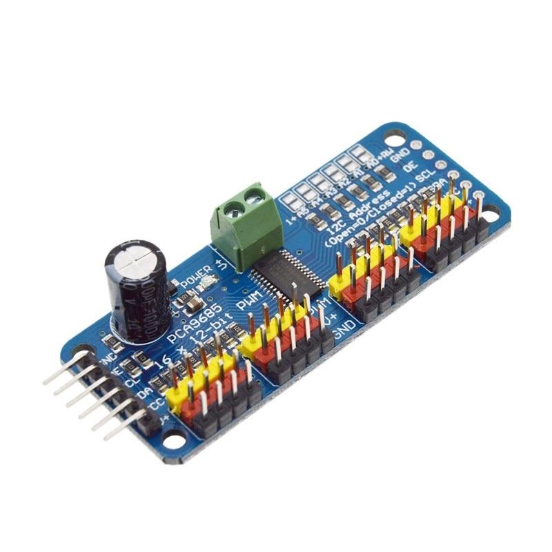 16-канальный 12-битная ШИМ/сервопривод-I2