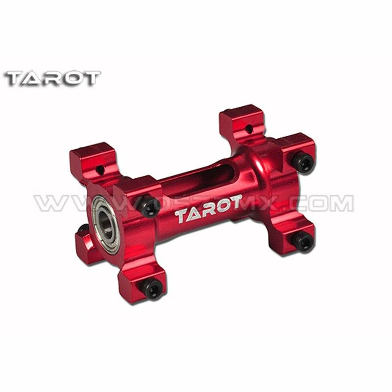 Tarot-RC 450 serie deportiva montaje de eje integrado vino rojo TL45088-03 TL45088-02 de plata para todos los helicópteros 450