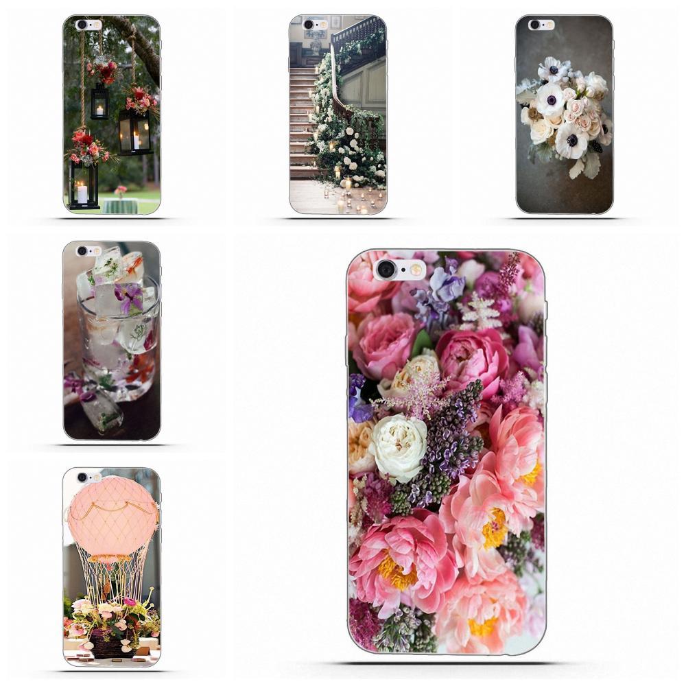 Suave mejor de los casos para Huawei G7 Y6 II Y7 para Xiaomi rojo mi nota 2 3 5 mi 3 4 4C 4I 5S 5X6X8 SE Pro Tumblr Supre Co mi c Floral