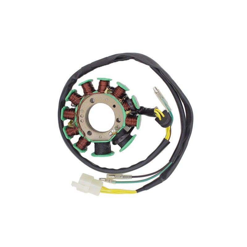 Motocicleta 5 cables 11 polos Full-wave AC para Honda CBT125 CBT 125 Magneto estator bobina generador piezas de repuesto