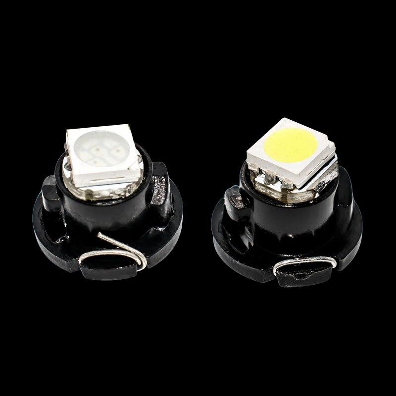 100X T 4,7 LED 5050 SMD Auto Instrument Cluster Panel Lampe Manometer Birne Dashboard-anzeige Licht rot blau grün gelb weiß 100pcs
