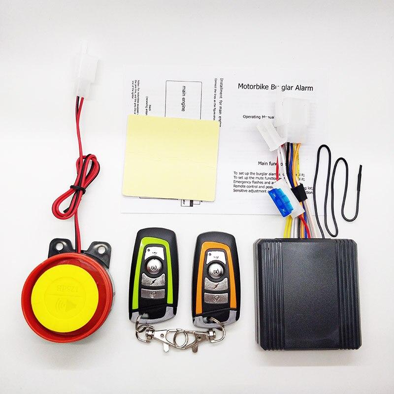 Sistema de Alarma antirrobo para motocicleta Kawasaki, accesorios de protección para motocicleta