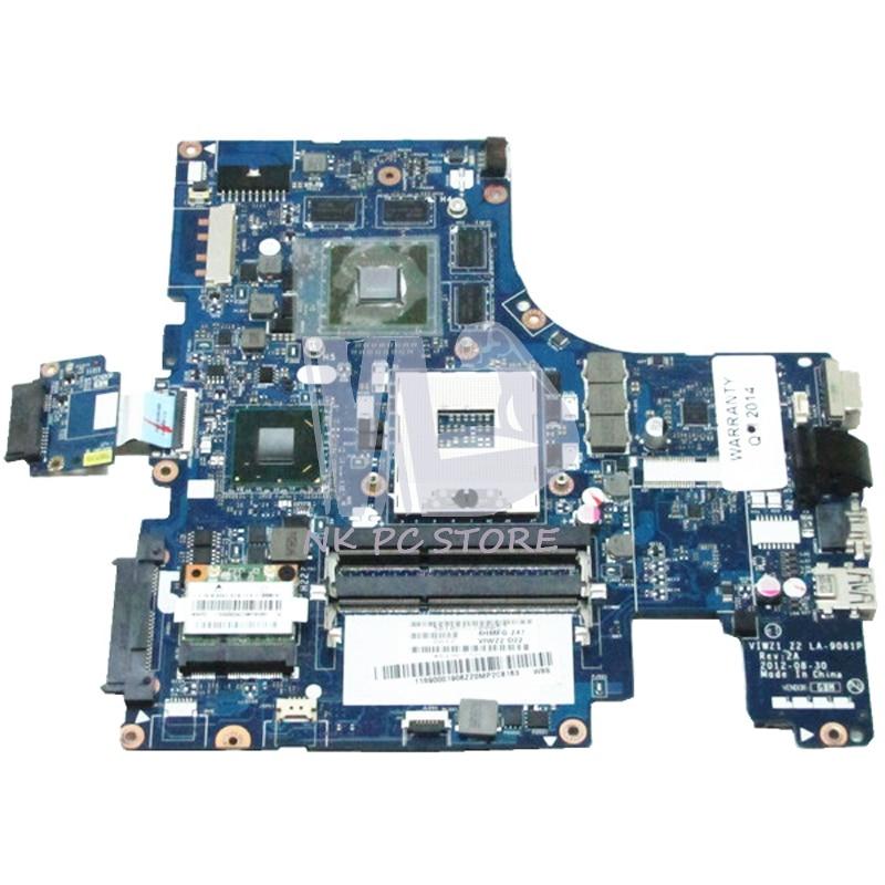NOKOTION VIWZ1_Z2 LA-9061P материнская плата для Lenovo ideapad Z500 материнская плата для ноутбука HM76 DDR3 N13P-GLR-A1 GPU