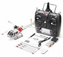 (Avec deux batteries) Original XK K123 6CH Brushless AS350 échelle 3D6G système RC hélicoptère RTF mise à niveau WLtoys V931 (en Stock)