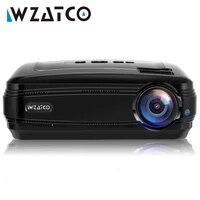 WZATCO     projecteur Portable CTL60  Android 9 0  WIFI  5500Lumens  full HD  1080P  4K  jeu video  HD  I LCD  pour Home cinema
