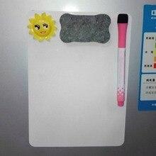 21*15cm pizarra impermeable pizarra magnética nevera borrable tablero de mensajes Bloc de notas tablero de dibujo oficina en casa