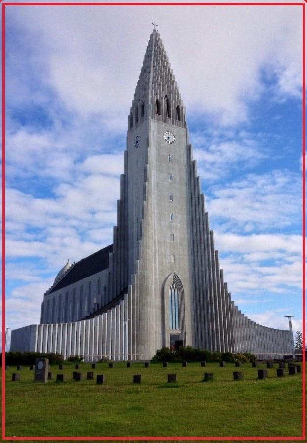 Souvemag islândia hallgrimskirkja geladeira ímãs 21058, lembranças de loja on-line paisagem mundial