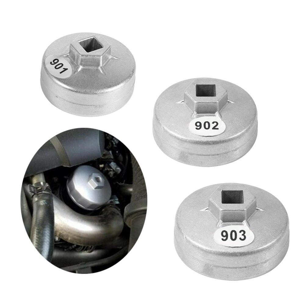 65mm/67mm/74mm carro 14 flauta de alumínio filtro óleo chave soquete removedor kit