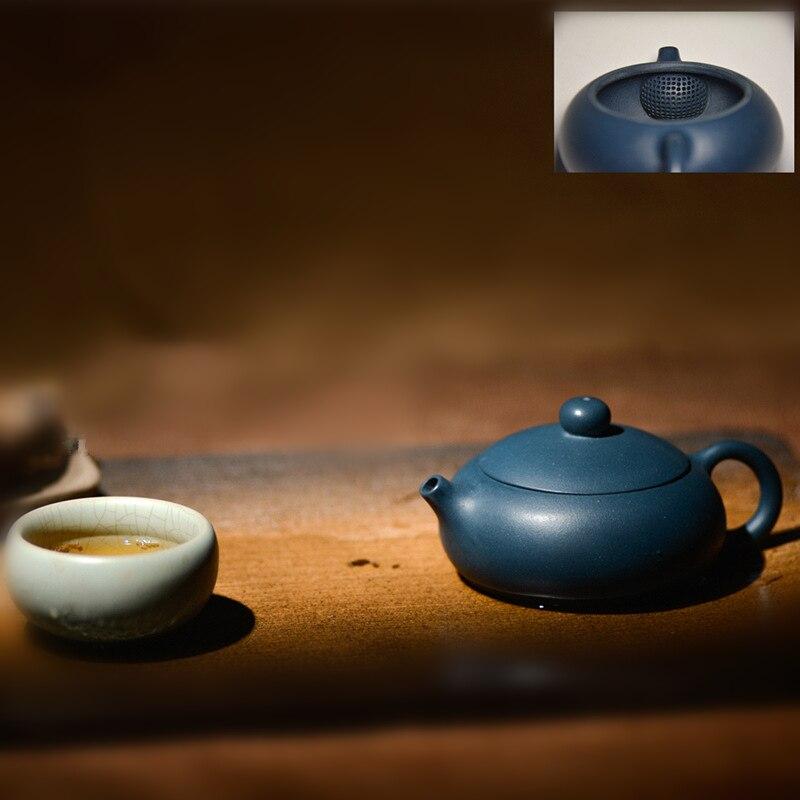 Yixing zisha-إبريق شاي صيني مصنوع يدويًا ، 168 فتحة ، 160 مللي ، طقم شاي kungfu yixing من الصين