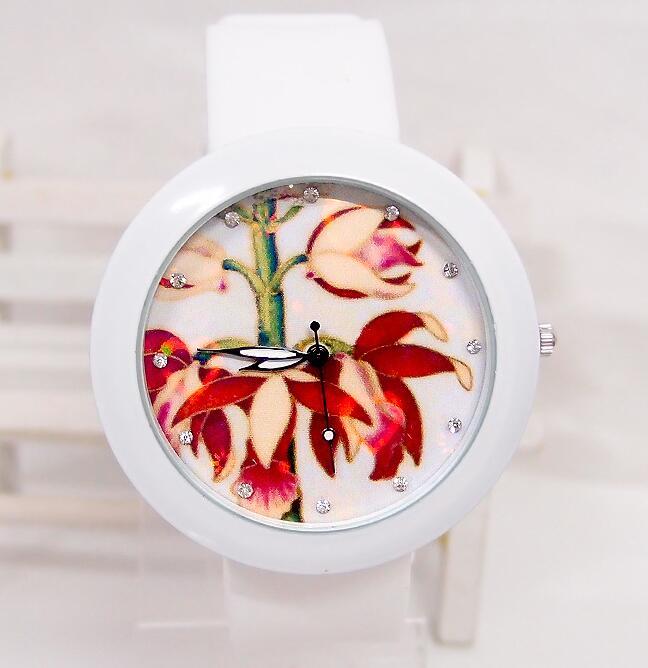 Luxury Brand fashion quartz watch women Ladies Casual Bracelet silicone Wristwatch clock relogio fem