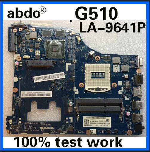 Für Lenovo G510 VIWGQ/GS LA-9641P Notebook Motherboard PGA947 HM87 DDR3 Alone Grafikkarte 100% Test Arbeit