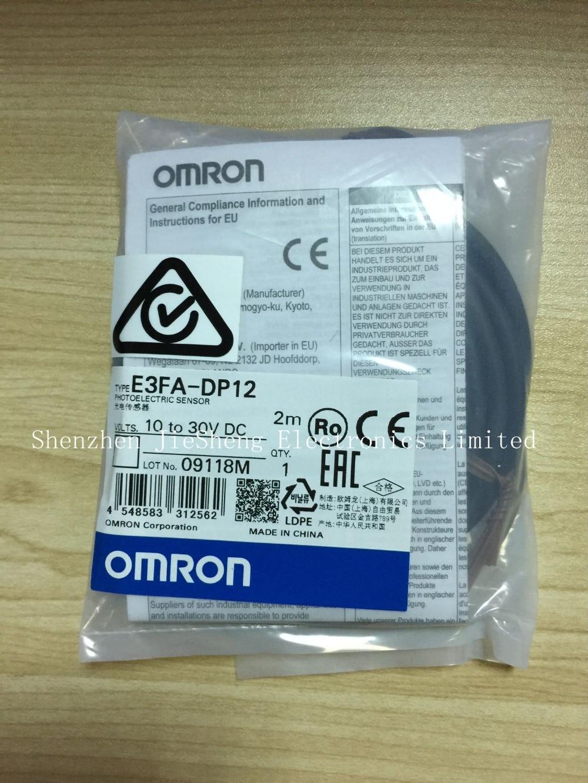 FREE SHIPPING %100 NEW E3FA-DP12 2M Photoelectric switch sensor