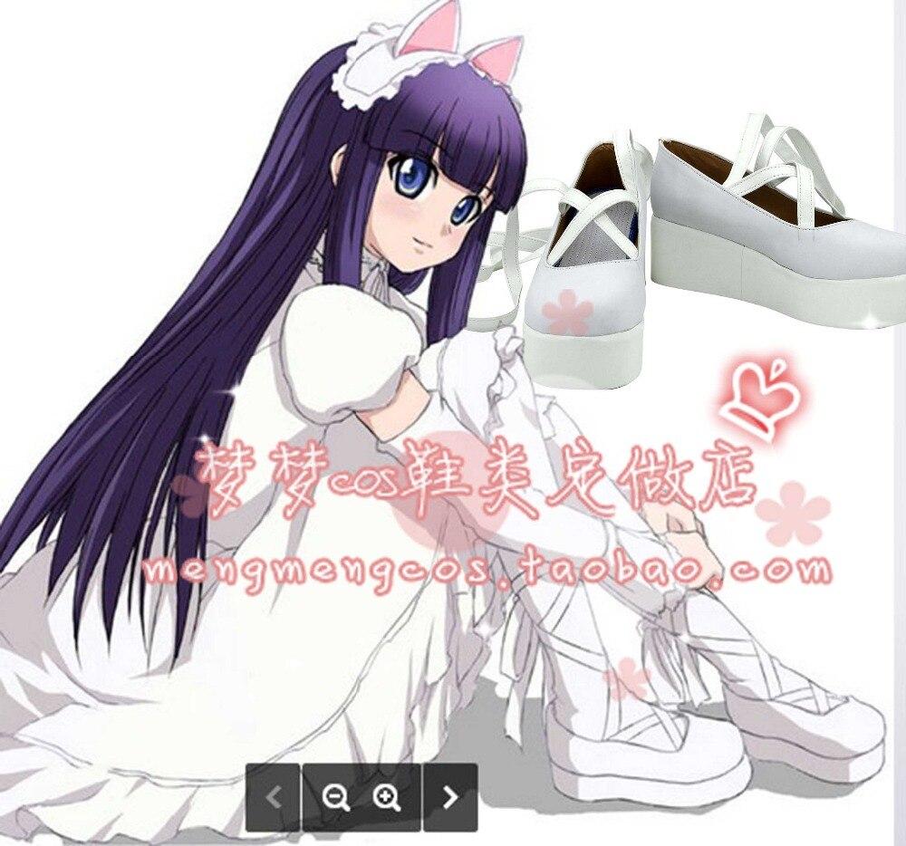 Tsukuyomi fase da lua hazuki cosplay sapatos botas feitas sob encomenda 2643