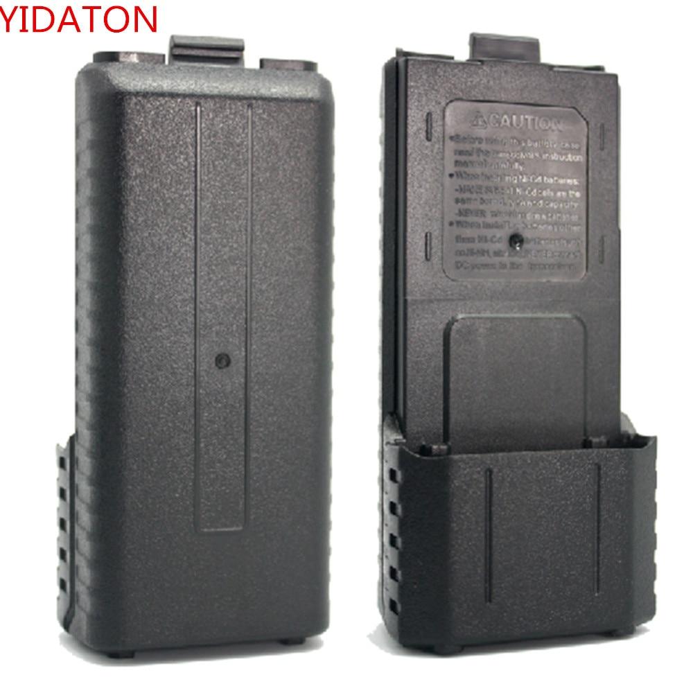 Чехол для аккумуляторной батареи BAOFENG UV5R, 6X AA, 5RA, 5RB, 5RA + BL-5L, двухсторонняя рация, аксессуары для рации Baofeng Feng