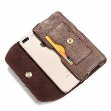 Portefeuille cuir ceinture Clip taille pochette étui housse pour AllCall Atom Madrid Rio MIX2 Haier téléphone L56 téléphone V4 A42P G7 A40