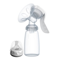 Hand-type Breast Pump Baby Milk Bottle Nipple With Sucking Function Baby Product Feeding Manual Brea