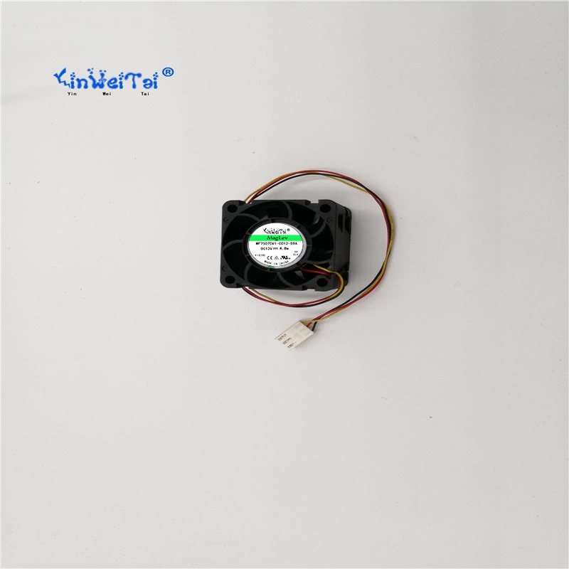 PMD1204PQV2-A YINWEITAI 2 pcs Frete grátis PARA sunon 4028 12 V 6.8 W fã 40x40x28mm ventilador de refrigeração