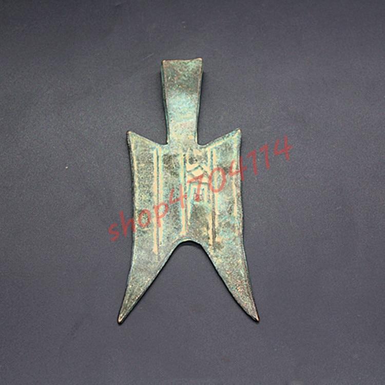 100% produtos genuínos, calças antigas moedas da dinastia pré-qin 2 #, coleções antigas
