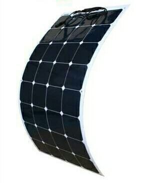 JINGYANG 1x 100W flexible solar panel 12V high efficiency solar cell yacht boat marine RV solar module battery charge cheap