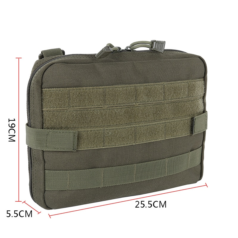 2018 ferramenta utilitário cinto edc bolsa para acampamento caminhadas caça militar molle admin bolsa tático multi kit médico saco