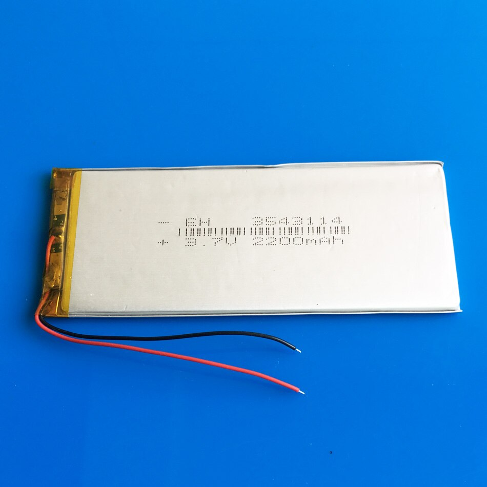 3,7 v 2200 mah lipo polymer lithium batterie zellen 3543114 für MP3 GPS navigator DVD power bank Tablet PC tastatur PAD