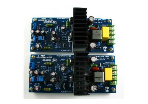 Placa de amplificador de potencia de Audio L15D Clase D IRS2092 + IRFB4019 (IRAUDAMP7S)