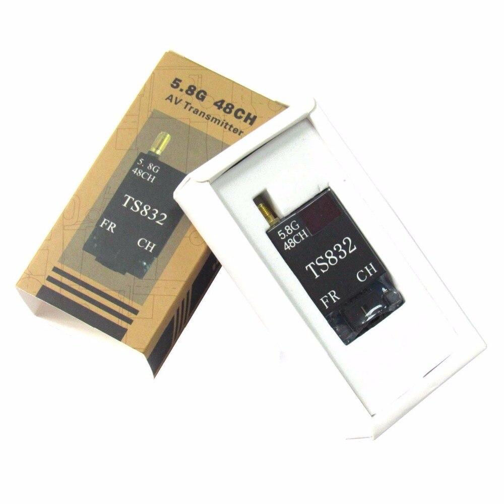 Transmisor de vídeo inalámbrico TS832 48CH 5,8G 600mW Tx para cámara 5,8 Ghz RC Drone FPV gafas de cuadricóptero