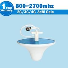 2G 3G 4G CDMA 850 GSM 900 1800 2100 LTE 2600 3dBi 800/2700 MHz Antenne de Plafond Intérieure Antenne Interne Mobile Signal Booster S41