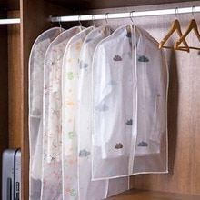 K3 house 1 قطعة حقيبة ملابس الغبار دعوى غطاء خزانة تخزين أكياس القماش معلقة الملابس حقيبة على شكل فستان معطف غطاء غبار مقاوم للماء