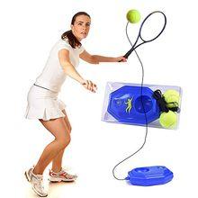 Принадлежности для тенниса, тренировочный мяч для тенниса, тренажер для самостоятельного обучения, базовая доска, тренировочный инструмент, поставка с эластичной веревкой