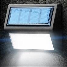 1PC Outdoor Waterproof Garden light Lamp LED Solar Power Light Sensor Wall Light Sensor Corridor Emergency Sconce Solar Sconces