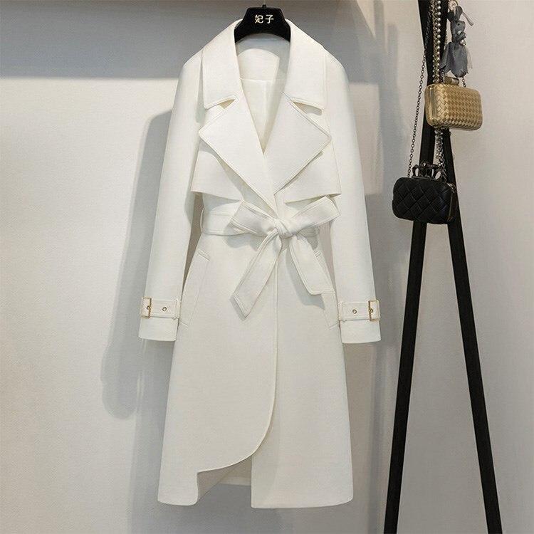 Gabardina elegante para mujer, gabardina de moda para oficina para mujer, gabardina Feminino, gabardina para mujer, chubasquero, Casacas