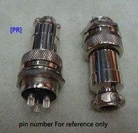 [PR] 1sets GX20 M20 DF20 QL20 15P 15pin connector Socket+Plug Male & Female RS765 Aviation plug circular Free Shipping