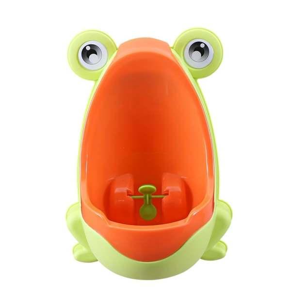 Милый горшок-лягушка обучающий Писсуар для мальчиков (синий)