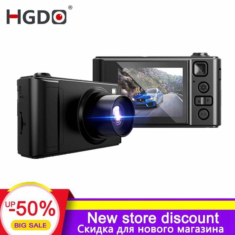 Hgdo 2019 nova câmera do carro dvr mini 2.0 polegada completa hd 1080 p registrador de vídeo g-sensor de visão noturna traço cam