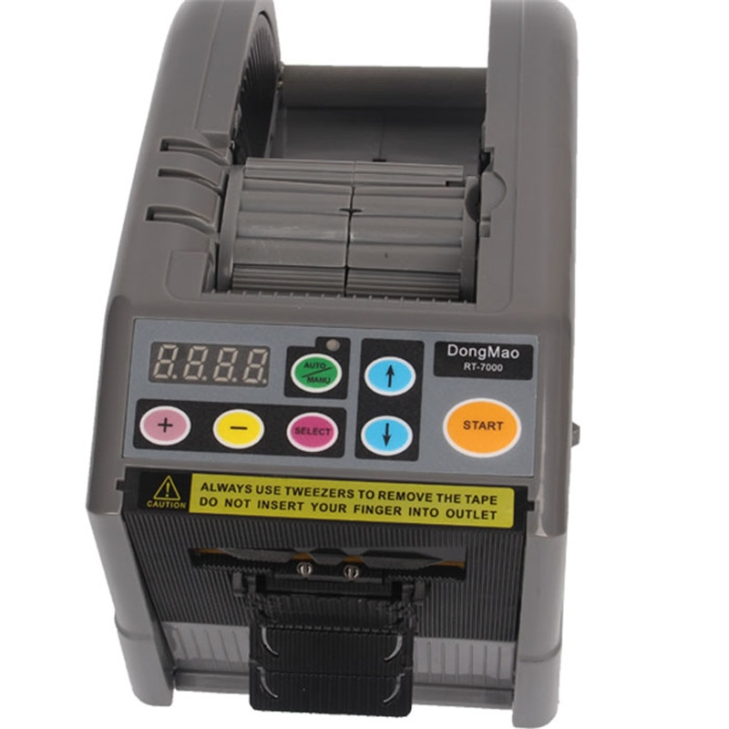 Máquina cortadora de película protectora automática de RT-7000, máquina cortadora de cinta 6-60mm